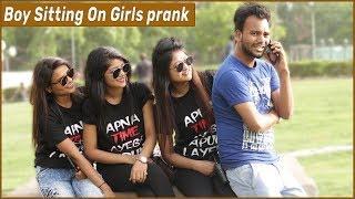 Boy Sitting On Girls prank | Funky Joker