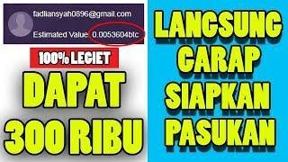 CUMA KERJAIN TUGAS DAPAT 0.005 BTC GRATIS WD KE INDODAX