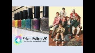 Genius ARMY collaborated with Prism Polish UK to create 'BTS Euphoria Collection'
