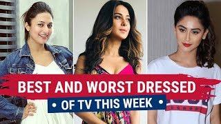 Jennifer Winget, Hina Khan, Karishma Tanna,: TV's Best and Worst Dressed of the Week
