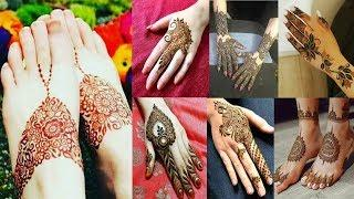 Latest Simple & Easy Mehndi Designs Beautiful Collection | Fashion Trends