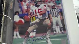 Autographed sports 8 x 10 photo collection at DJ's Sportscards!