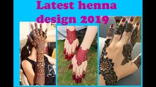 Latest Henna Design 2019???? #Eid #wedding #karwachouth Mehndi Designs Hands & Feet????