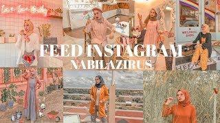 EDIT FOTO ALA SELEBGRAM NABILAZIRUS | FEED INSTAGRAM NABILAZIRUS