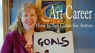 LIVE Setting Art Goals and How to Achieve Them