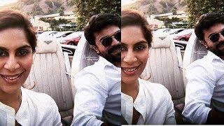 Ram charan and Upasana Lovely Couples Cute Latest Photos   Ram Charan with Wife