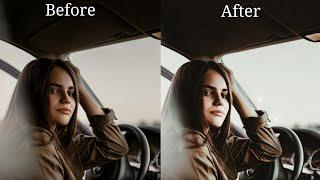 How To Edit In Lightroom Mobile Like a Pro (Brownish Tone) Tutorial