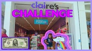 "$50.00 DOLLAR CLAIRE'S CHALLENGE ""SISTER FOREVER"""