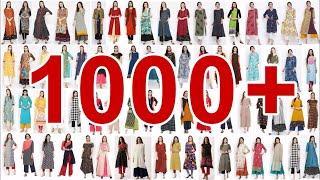 WOW ! 1000+ Kurti Design Images / Photo    Latest Kurta / Kurti Design Collection 2018   Slit Tunic
