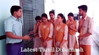 School Girls and Boys Kuthu Dance and Funny Latest Dubsmash Part-2