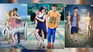 How to add girl in photo PicsArt and Photoshop touch tutorial