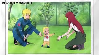 Naruto Ve El Album De Fotos Donde Esta Con Minato Y Kushina Cuando Era Bebe