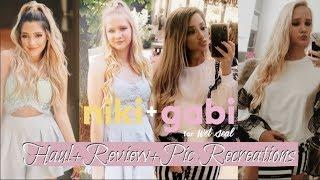 Niki and Gabi Wet Seal Collection Try-On Haul, Review, & Photo Recreations
