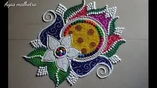 New Stylish Rangoli Designs Very Beautiful Rangoli Designs ll photo collection images design ll