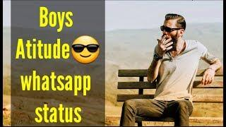Boys Attitude Whatsapp Status????| Attitude Status For Boys ????| 2018