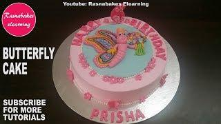 Butterfly Cake Design for girls:happy birthday cake pic:Cake Decorating Ideas