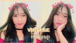 90s Vintage Makeup Look ✉ Boy To Girl Transformation