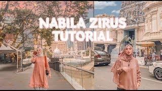 TUTORIAL FEED INSTAGRAM NABILA ZIRUS FILTER TERBARU HITS 2019