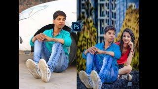 photoshop cc tutorial || photo editing boy and girl  photo effect in adobe cc 2018