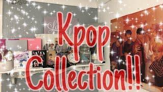 KPop Collection! Albums, Photo cards (official and unofficial)!! Very small collection ahha.