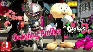 Nintendo Splatoon 2 Octoling Boy Octopus Girl Amiibo New Gear Gameplay Switch