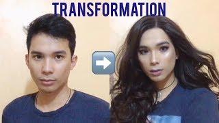 BOY TO GIRL TRANSFORMATION