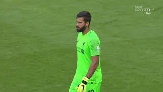 Alisson Becker Debut For Liverpool