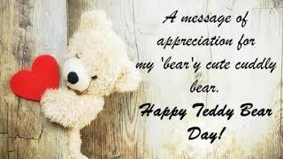 Teddy Day Best Whatsapp Status _ Teddy day 2019 |