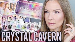 Wet N Wild Crystal Cavern Collection! Swatches, Review, & Tutorial! | LipglossLeslie