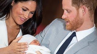 Meghan Markle & Prince Harry Reveal Baby Name & Photos