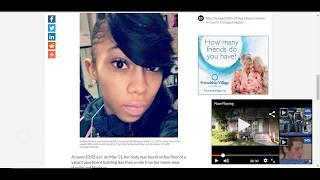 WAS KENNEKA'S FRIEND  (SADARIA DAVIS) ORGANS MISSING? 15 YEAR OLD FROM CHICAGO