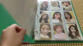 My TWICE photo cards collections