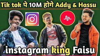 Tik Tok पे होगे 10M Followers Adnaan & Hasanin khan _ Mr faisu instagram 3M followers