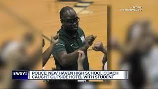 New Haven High School girl's basketball coach arrested for alleged sexual assault