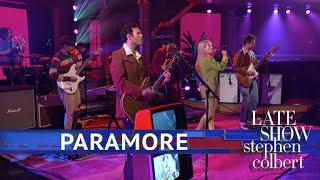 Paramore Performs 'Rose-Colored Boy'