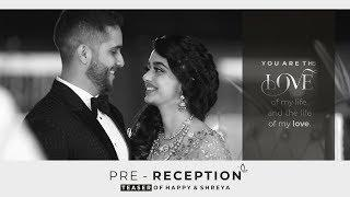 Pre - Reception Teaser | feat. Happy & Shreya  | FOTO ME STUDIO