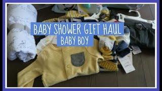 Baby Shower Gift Haul: Baby Boy