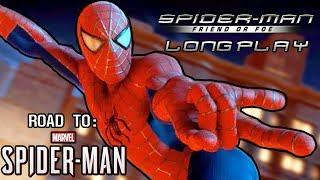 Spider-Man: Friend or Foe Longplay, No Commentary [Road To Marvel's Spider-Man PS4] [60FPS]