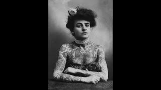 19 Badass Vintage Photos of Women Showing Their Tattoos from the 1890s to the 1960s