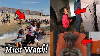 Propaganda Pictures Exposed! Media Misrepresents Photos. (Syria Kid, Crying Girl & Border Tear Gas)