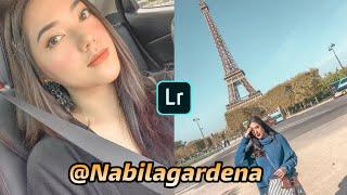 Cara Edit Foto Ala Selebgram @Nabilagardena - Lightroom Mobile Tutorial