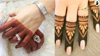 34 Latest Beautiful Finger Henna/ Mehndi Art Tattoo Designs| Images| Photo Collection