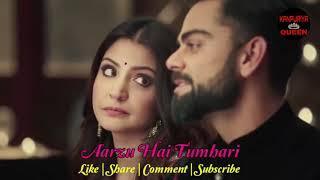 Virat & Anuska ( cute ???? couple )    bhut pyar karte hai tumko sanam    whatsapp status video