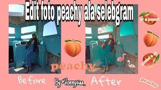 Edit foto peachy seperti selebgram di lightroom cc // CUMA PAKAI SATU APLIKASI WOWW!!!