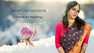 Boy to Girl Saree Transformation