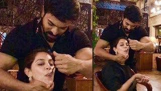 Ram Charan Taking care of His Wife (Upasana) Cute Latest Photos  Upsana   Ram Charan