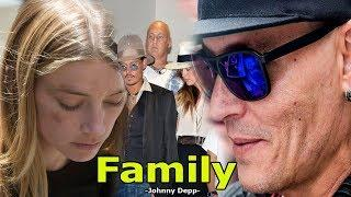 Johnny Depp Family in real life