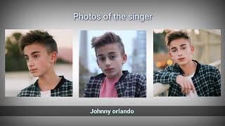 Photo collection singer Johnny Orlando