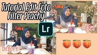 Tutorial edit foto filter peachy???? | feed peachy | #1
