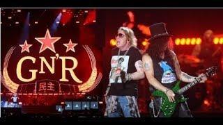 5 Fakta Terheboh Konser Guns N Roses & Foto foto Panggung Konser Not In This Lifetime Tour Terpanas